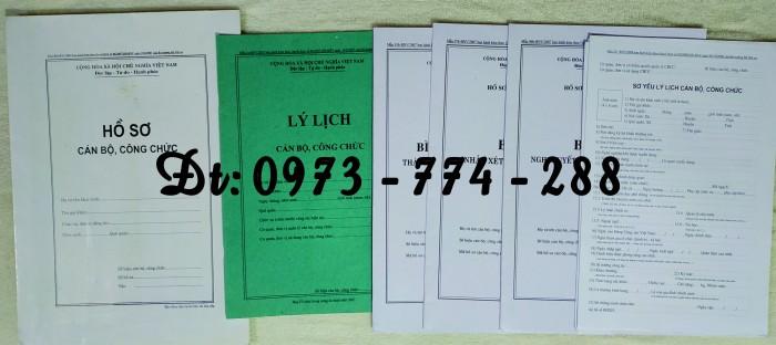 Hồ sơ cán bộ công chức, viên chức2