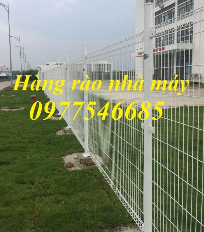 Lưới thép hàng rào sơn tĩnh điện , hàng rào lưới thép mạ kẽm4