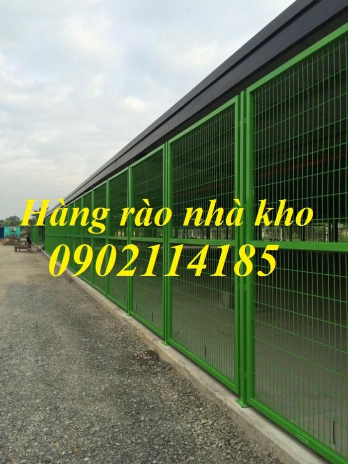Lưới thép hàng rào sơn tĩnh điện , hàng rào lưới thép mạ kẽm3