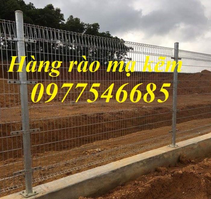 Lưới thép hàng rào sơn tĩnh điện , hàng rào lưới thép mạ kẽm2