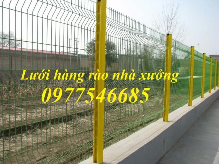 Lưới thép hàng rào sơn tĩnh điện , hàng rào lưới thép mạ kẽm1
