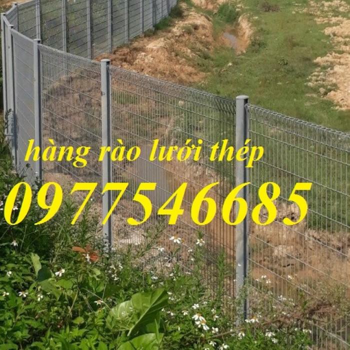 Lưới thép hàng rào sơn tĩnh điện , hàng rào lưới thép mạ kẽm0