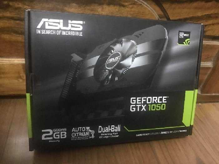 Card VGA Asus Geforce GTX1050 DDR50