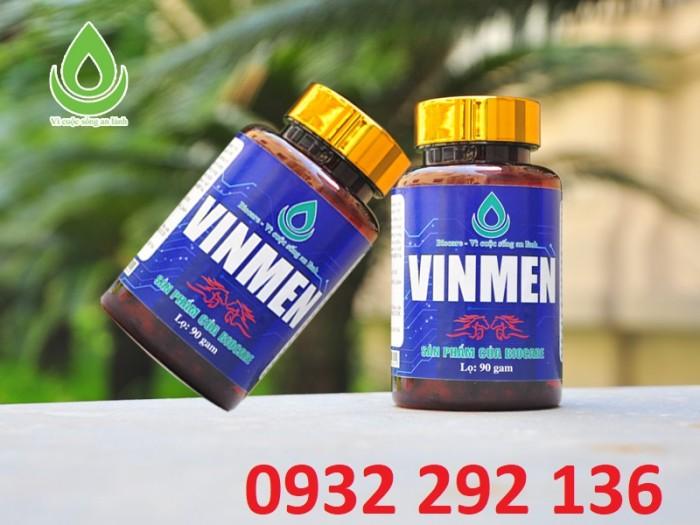 VinMen tăng cường sinh lý nam từ thảo dược thiên nhiên