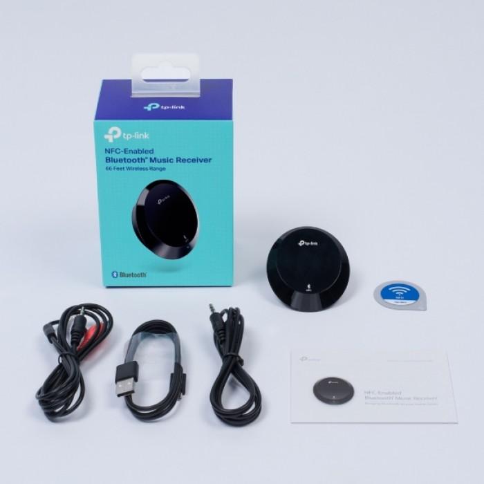 TRỌN BỘ GỒM CÓ: Thiết bị TP-Link HA100, thẻ kết nối NFC, adapter 5V/ 1A, dây nguồn, dây 2 đầu 3.5mm, dây 3.5mm ra AV, 3