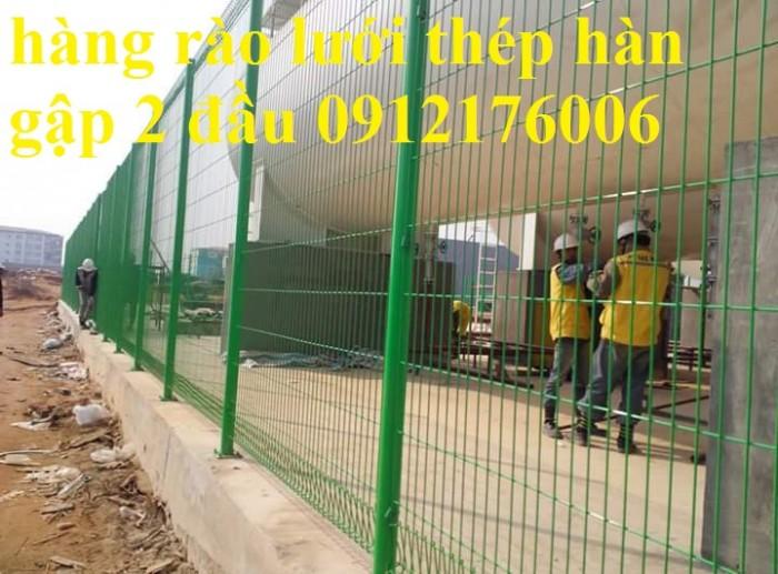 Hàng rào lưới thép hàn D5 a 50x150 mạ kẽm sơn tĩnh điện12
