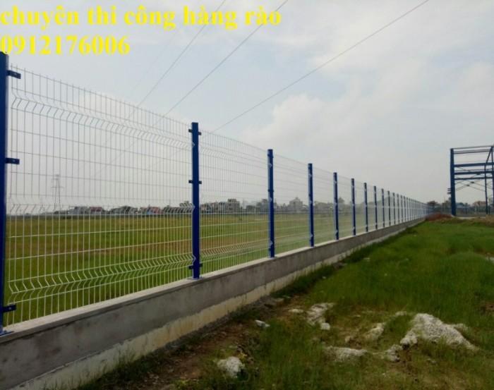 Hàng rào lưới thép hàn D5 a 50x150 mạ kẽm sơn tĩnh điện14