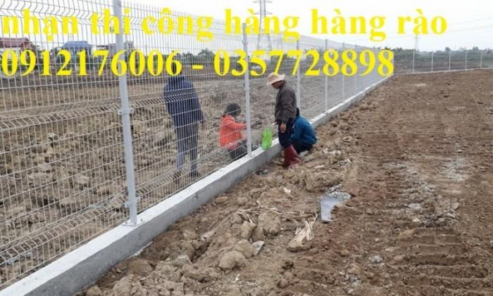 Hàng rào lưới thép hàn D5 a 50x150 mạ kẽm sơn tĩnh điện16