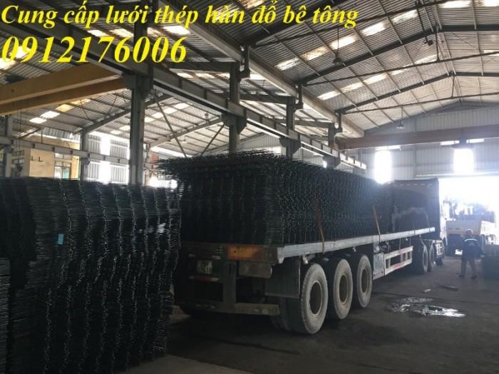 Lưới thép hàn D8 a 200*200 .đổ sàn bê tô2