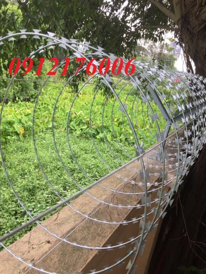 Chuyên sản xuất dây thép gai hình dao giá tốt5