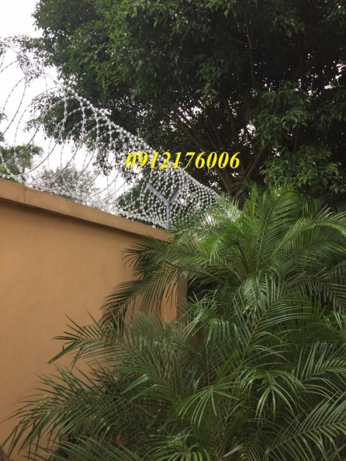Chuyên sản xuất dây thép gai hình dao giá tốt8