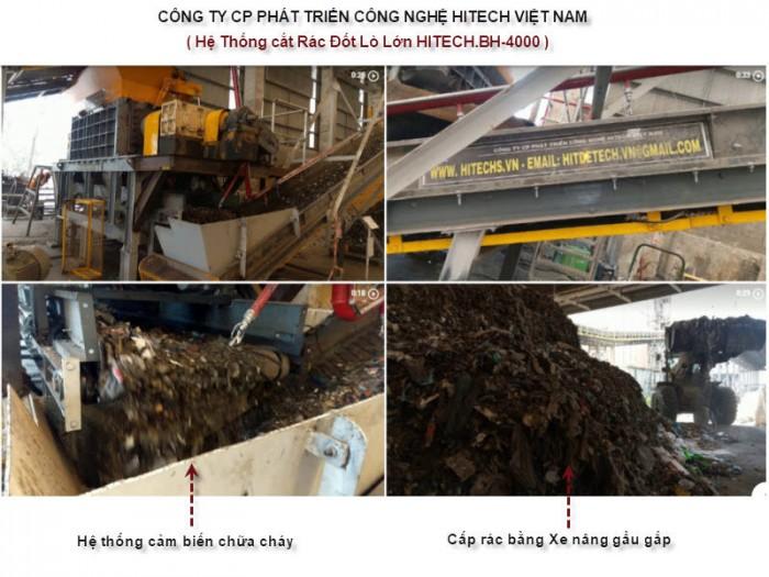 Máy Cắt nghiền rác Đốt lò, Hitech-BH1200