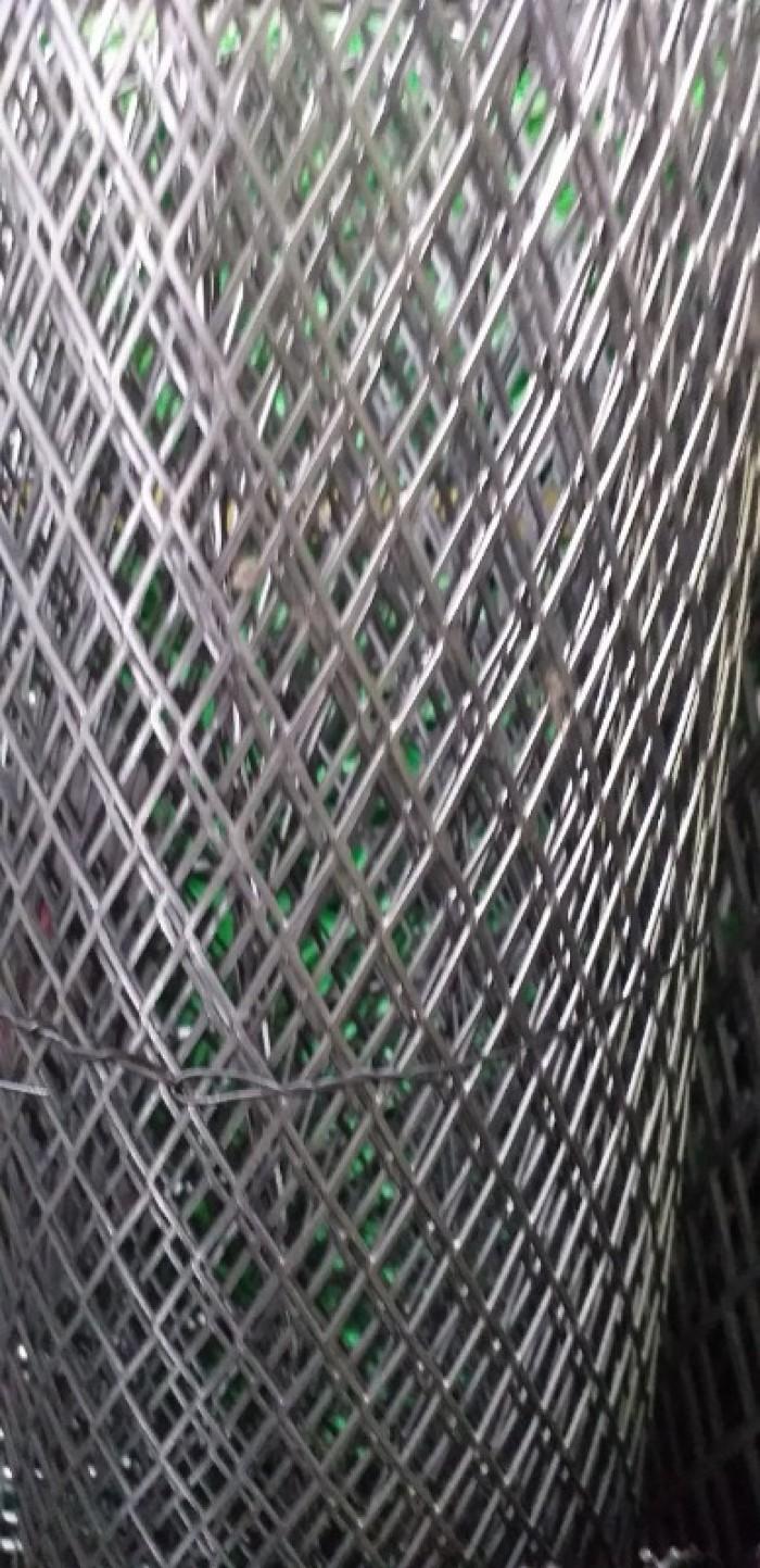 Lưới dập giãn, lưới trám dây 1.5 ly, 2ly5