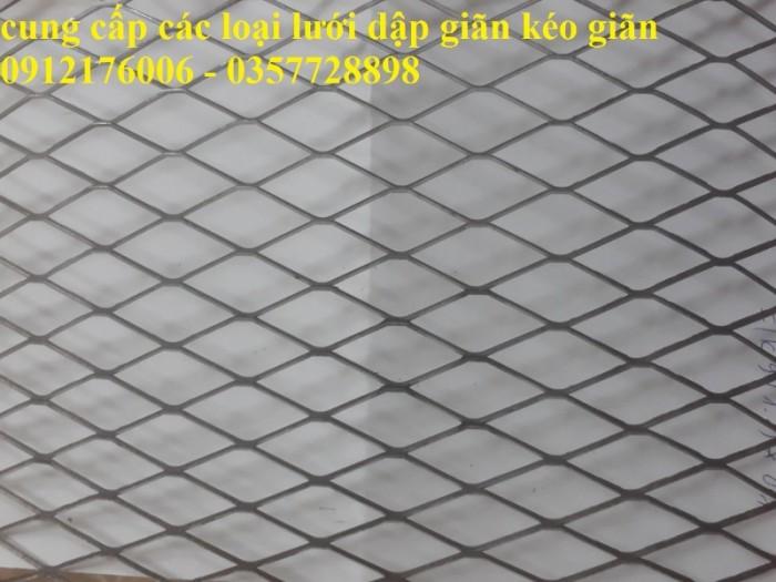Lưới dập giãn, lưới trám dây 1.5 ly, 2ly6