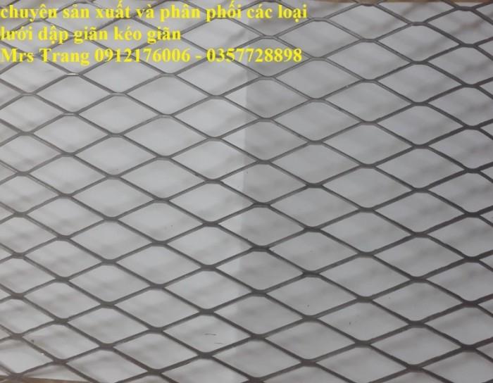 Lưới dập giãn, lưới trám dây 1.5 ly, 2ly7