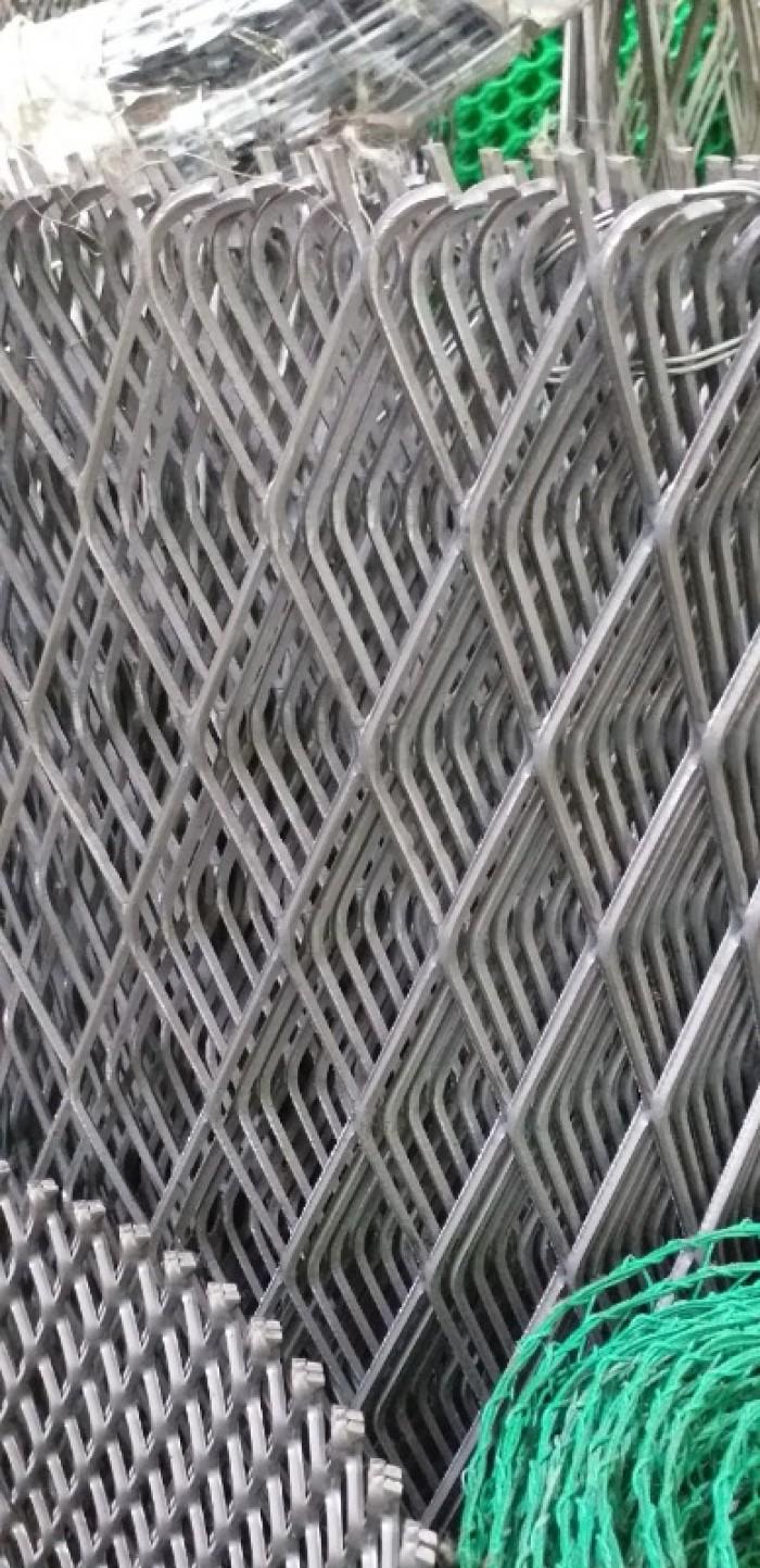 Lưới dập giãn, lưới trám dây 1.5 ly, 2ly11