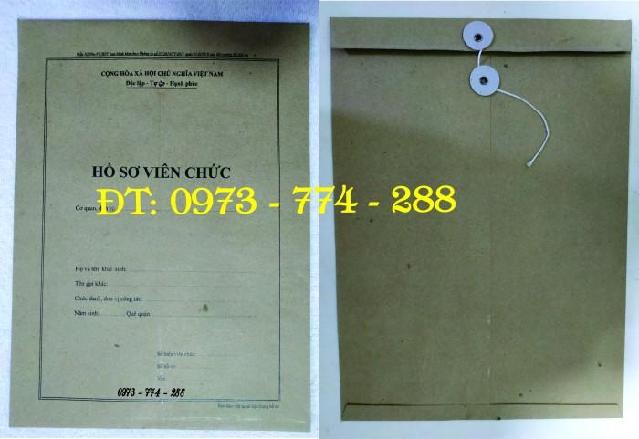 Bìa hồ sơ công chức viên chức27