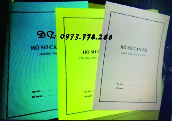 Bìa hồ sơ công chức viên chức20