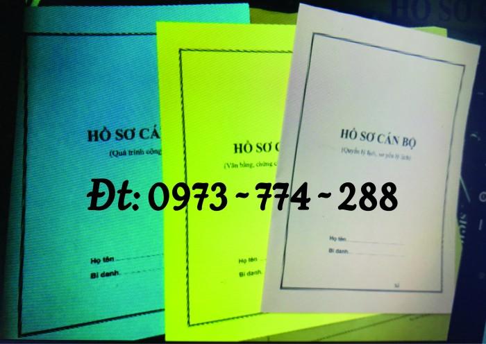 Bìa hồ sơ công chức viên chức19