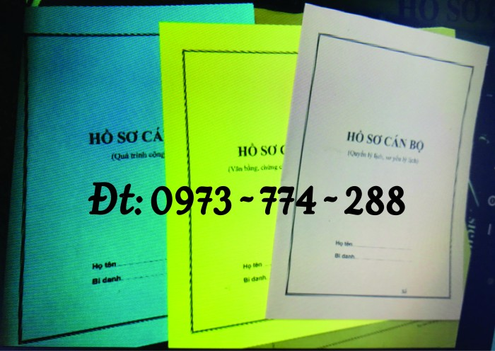 Bìa hồ sơ công chức viên chức18