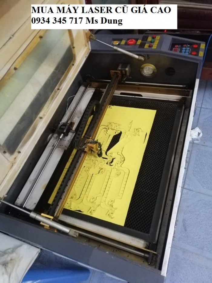 Thu mua máy laser 6040 cũ  toàn quốc