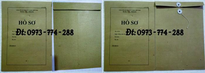 Bìa hồ sơ viên chức10