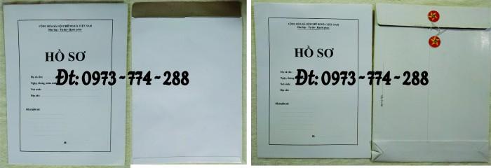 Bìa hồ sơ viên chức9