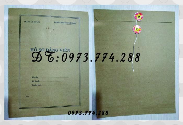 Bìa hồ sơ viên chức7