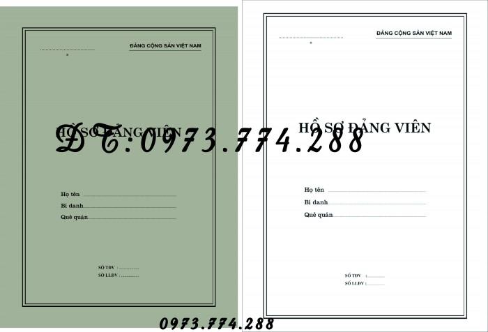 Bìa hồ sơ viên chức6
