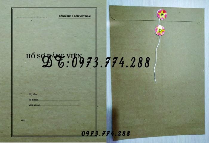 Bìa hồ sơ viên chức4