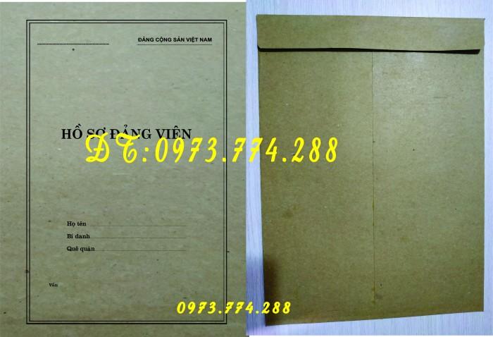 Bìa hồ sơ viên chức2
