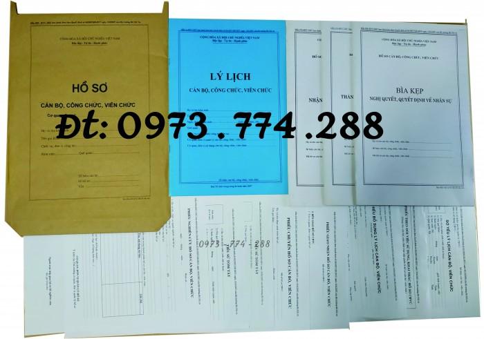Hồ sơ công chức viên chức18