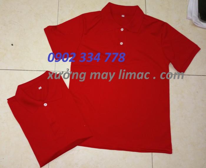 bán lẻ áo thun cổ trụ đỏ đô giá sỉ toàn quốc