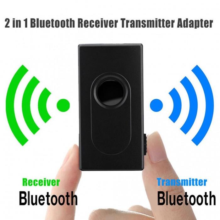 Thiết bị thu phát bluetooth BT 500 có pin sạc, sử dụng đến 4 giờ0