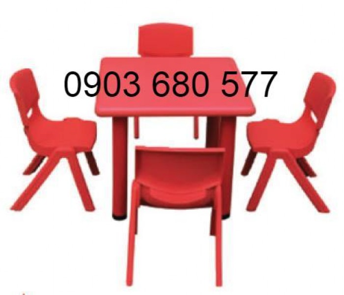Chuyên cung cấp bàn ghế nhựa trẻ em dành cho trường mầm non, lớp mẫu giáo21