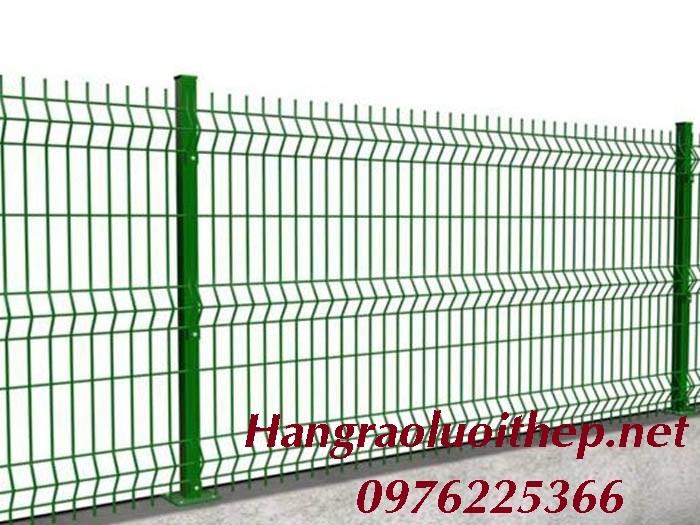 Lưới hàng rào, hàng rào gập đầu, hàng rào chấn sóng
