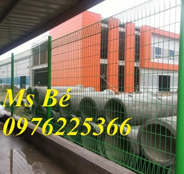 Hàng rào lưới sơn tĩnh điện, hàng rào mạ kẽm, lưới thép hàn7