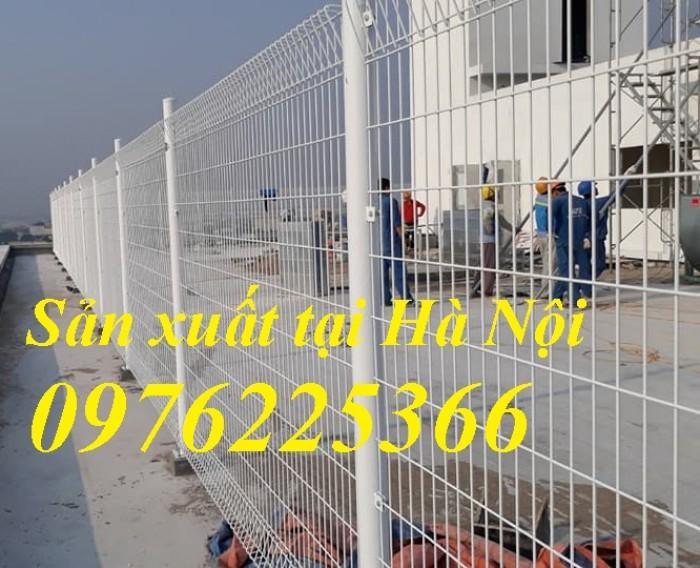 Hàng rào lưới sơn tĩnh điện, hàng rào mạ kẽm, lưới thép hàn3