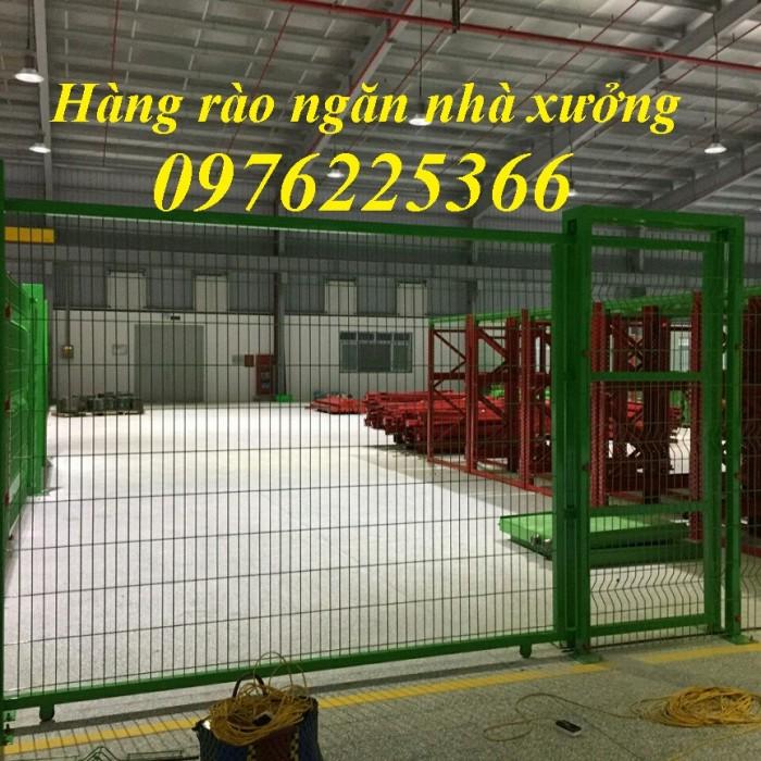 Hàng rào lưới sơn tĩnh điện, hàng rào mạ kẽm, lưới thép hàn1