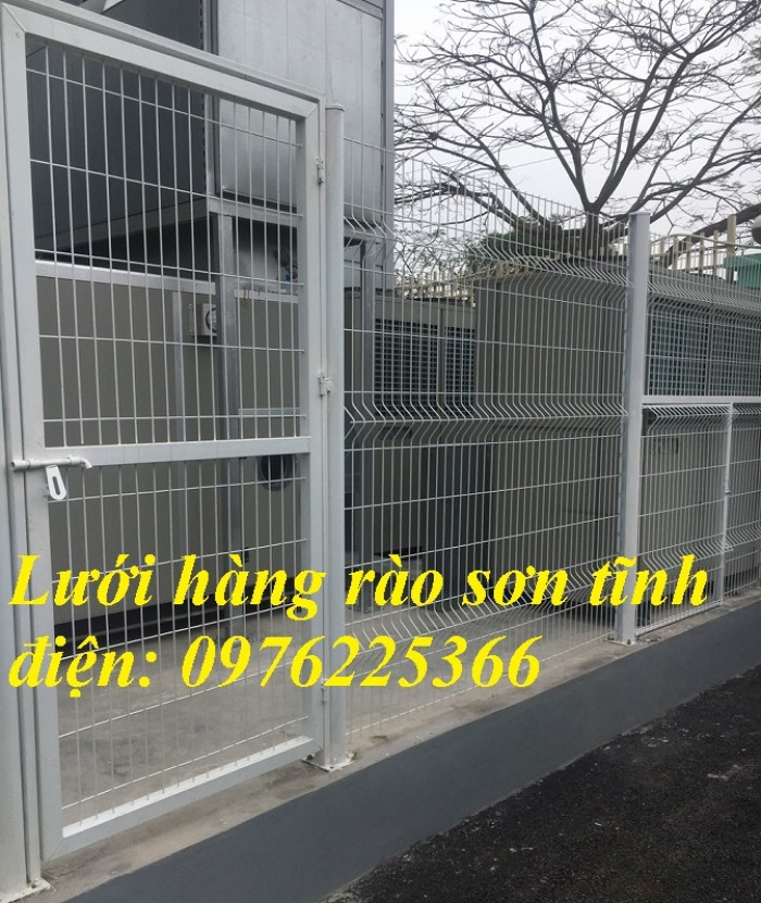 Hàng rào mạ kẽm, hàng rào di động, hàng rào kho2