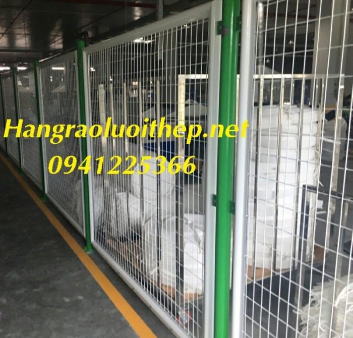 Hàng rào bảo vệ, hàng rào di động, khung lưới ngăn kho2