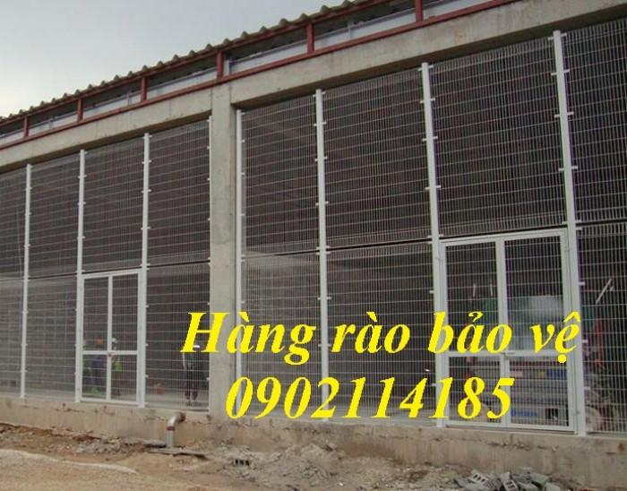 Hàng rào bảo vệ, hàng rào di động, khung lưới ngăn kho5