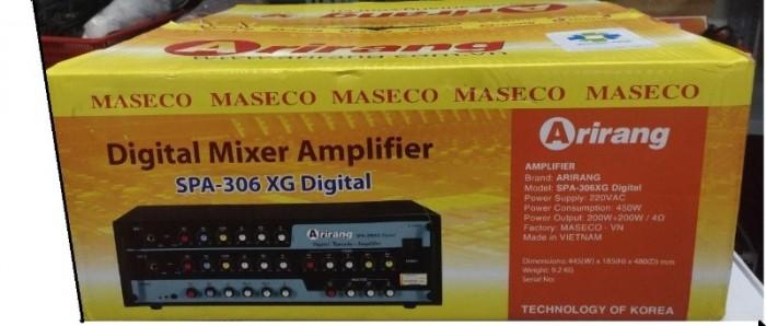 Amply Karaoke Arirang SPA-306XG Digital tại độ bền và giảm trọng lượng máy. Điện Máy Hải số 41 Lê Văn Ninh, P Linh Tây Chợ Thủ Đức là Đại lý Arirang tại chợ Thủ Đức nên bán giảm giá đến 10% từ giá 2 370K bán chỉ còn 2 150K/ cái