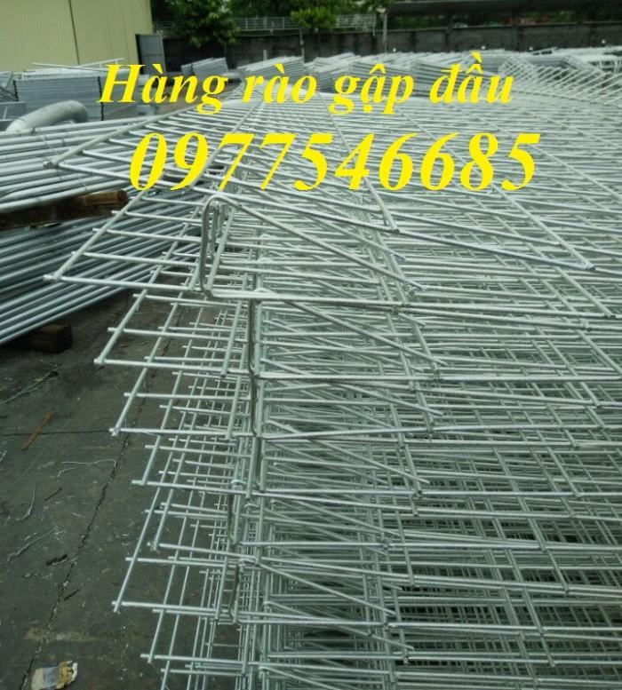 Sản xuất lưới thép mạ kẽm, hàng rào gập hai đầu