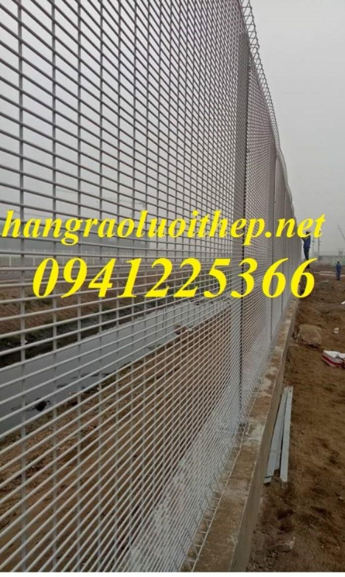 Lưới thép hàng rào mạ kẽm, hàng rào lưới thép hàn