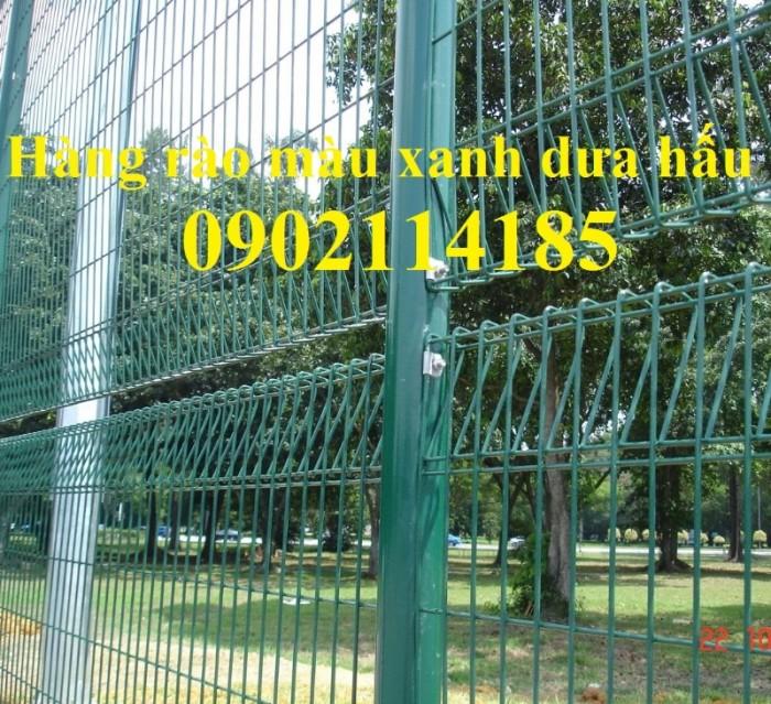 Hàng rào mạ kẽm gập hai đầu , hàng rào sơn tĩnh điện4