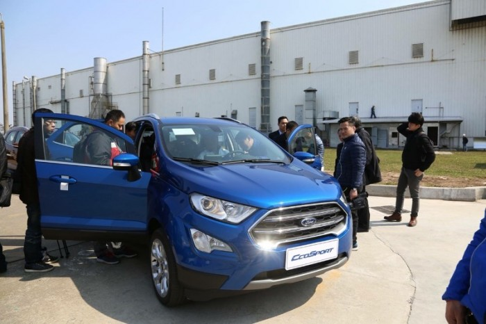 Ford Ecosport Titanium 1.0L AT 4WD 2019 2