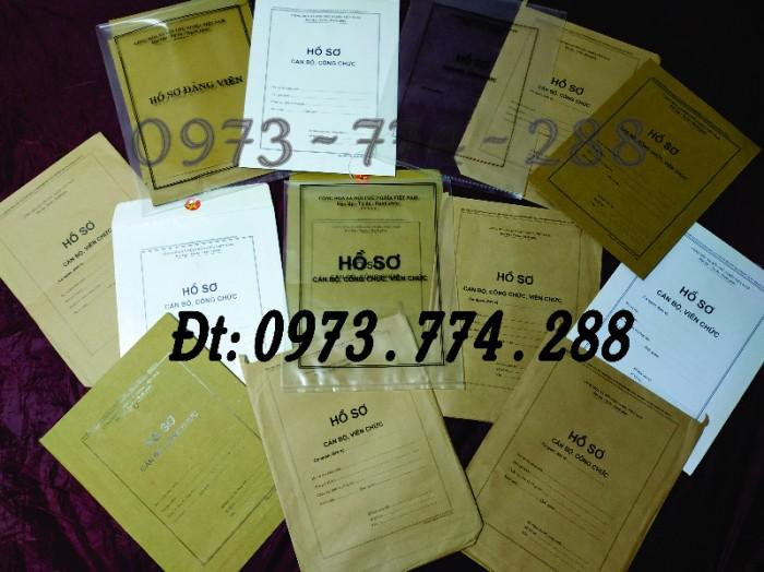 Túi hồ sơ công chức viên chức mẫu B011