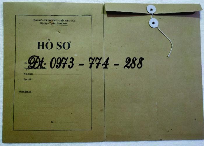 Túi hồ sơ công chức viên chức mẫu B012