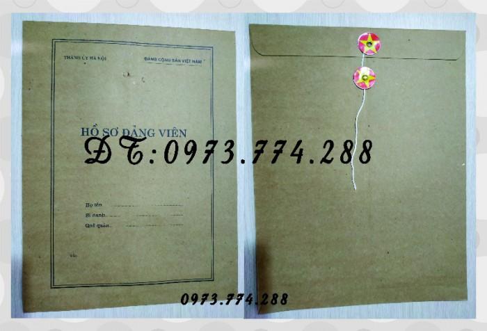Túi hồ sơ công chức viên chức mẫu B0112
